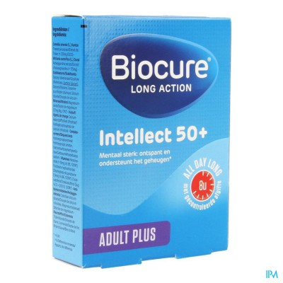 BIOCURE  INTELLECT 50+ LA  COMP  30
