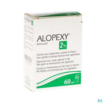 ALOPEXY 2 % LIQUID FL PLAST PIPET 1X60ML