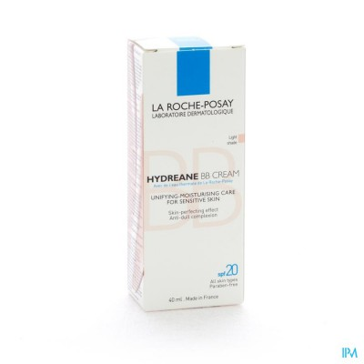 LRP HYDREANE BB CREAM LIGHT SHADE ROSE 40ML