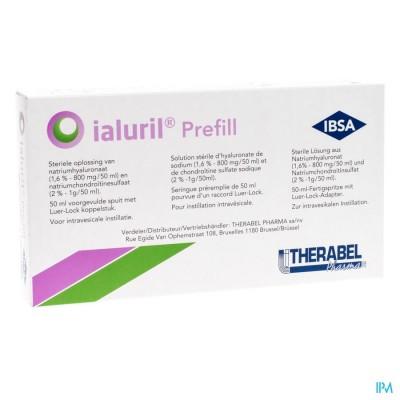 IALURIL PREFILL VOORGEVULDE SPUIT 1X50ML