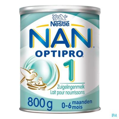 NAN OPTIPRO 1 0-6M MELKPOEDER 800G