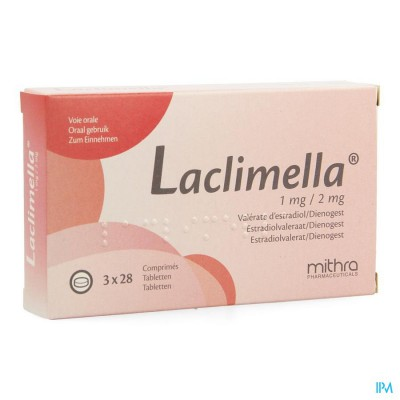 LACLIMELLA 1MG/2MG COMP 3 X 28
