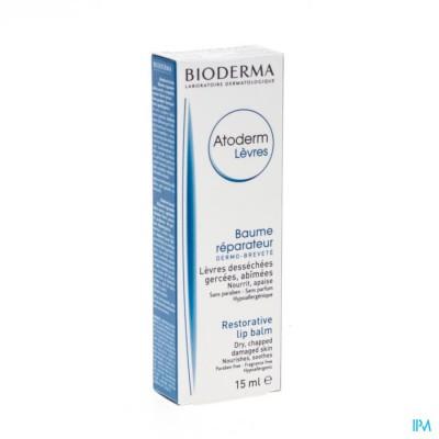 BIODERMA ATODERM LIPBALSEM HERSTELLEND   TUBE 15ML