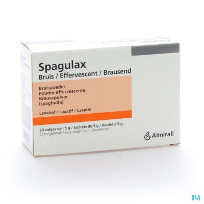 SPAGULAX EFFERV SACH 20 X 5 G