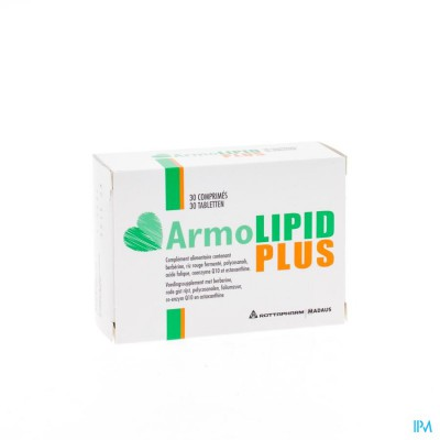 ARMOLIPID PLUS TABL 30