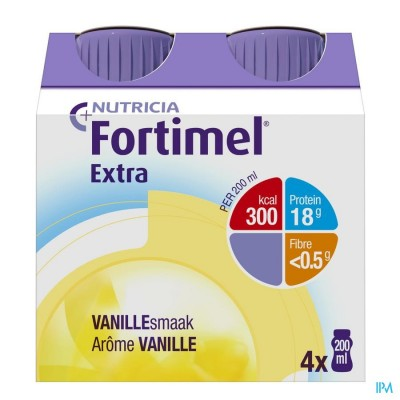 FORTIMEL EXTRA VANILLE NF 4X200ML VERV.2401511