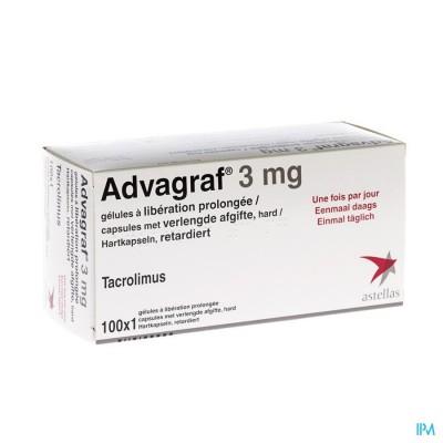 ADVAGRAF CAPS 100 X 3 MG