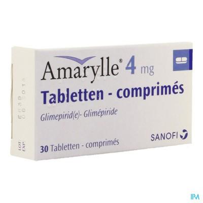 AMARYLLE TABL 30 X 4 MG