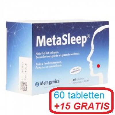 METASLEEP PROMO COMP 60+15 METAGENICS