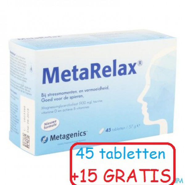 Metarelax Nf Tabl 45+15 22430 Metagenics