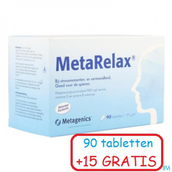 METARELAX NF TABL 90+15 22589 METAGENICS