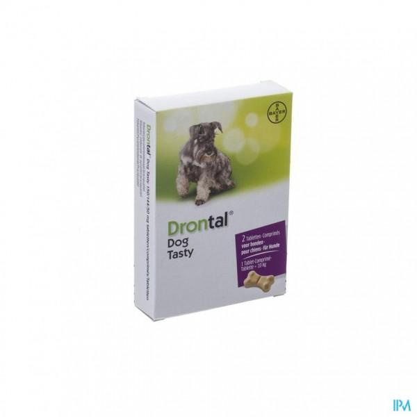 Drontal Tasty Bone 150/144/5mg 10kg Dog Comp 2