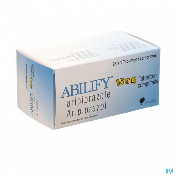 ABILIFY 15 MG COMP 98 X 15 MG
