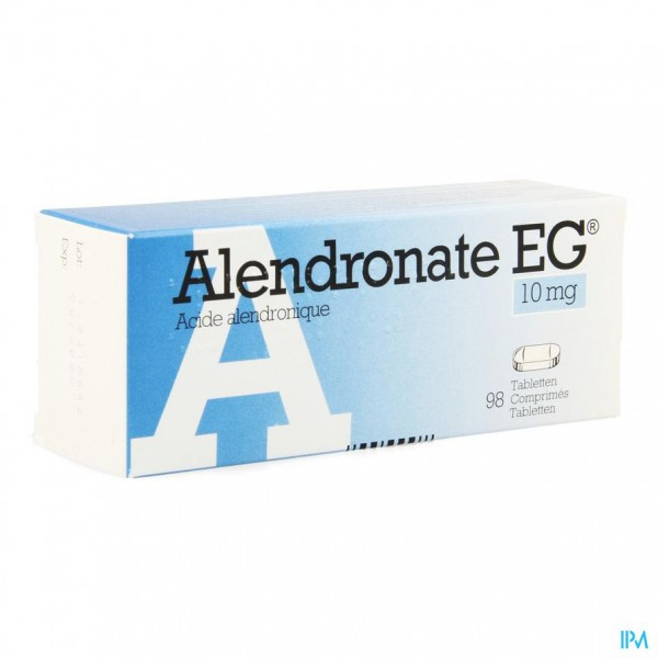 ALENDRONATE EG 10 MG COMP 98 X 10 MG