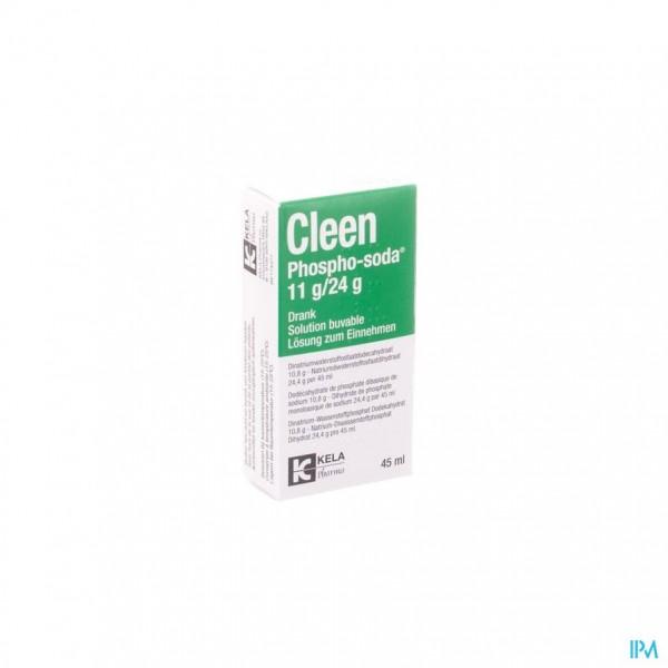 Cleen Phospho-soda 11g/24g Drinkbare Opl Fl 45ml