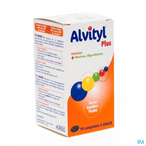 ALVITYL PLUS COMP  90
