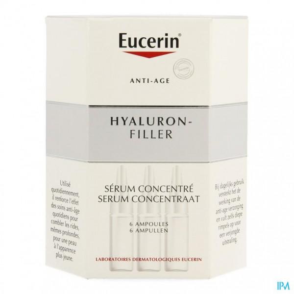 EUCERIN HYALURON FILLER INTENS.A/RIMPEL CONC.6X5ML
