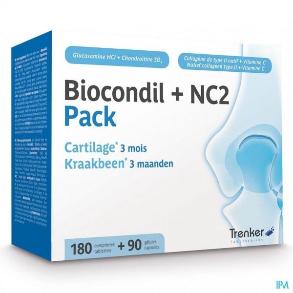 BIOCONDIL NC2 NF FILMOMH.TABL 180 + GEL 90
