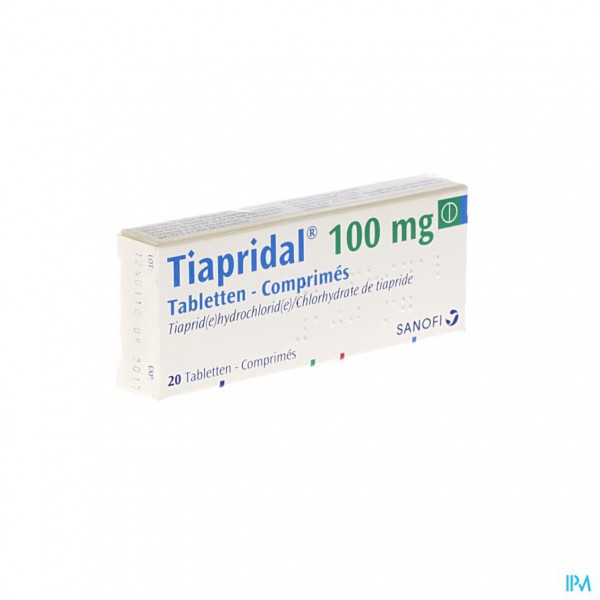 Tiapridal Comp 20 X 100mg